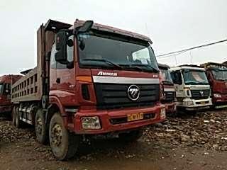 2014年5月 歐曼前四后八自卸車,國三排放圖片