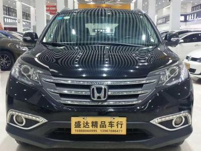本田 CR-V  2012款 2.4L尊贵版