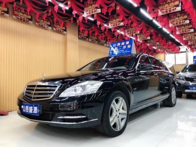 奔馳 奔馳S級  2010款 S 600 L