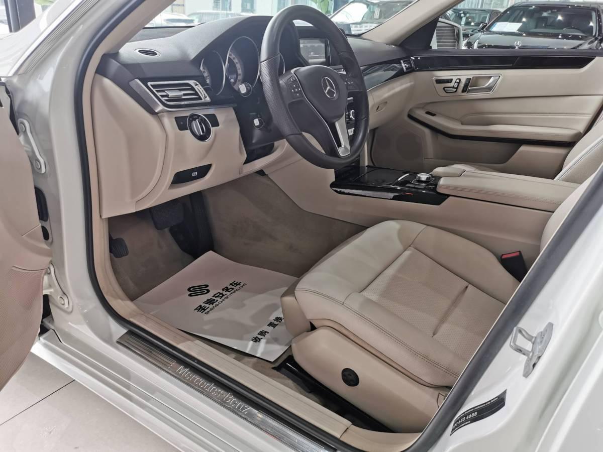 奔驰 奔驰E级  2013款 E 260 L CGI优雅型图片