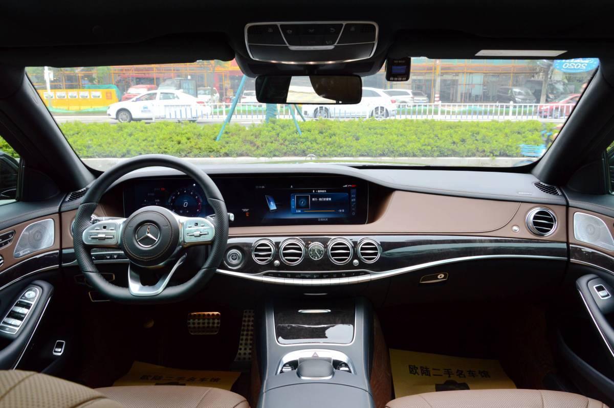 奔驰 奔驰S级  2018款 S 450 L 4MATIC 卓越特别版图片