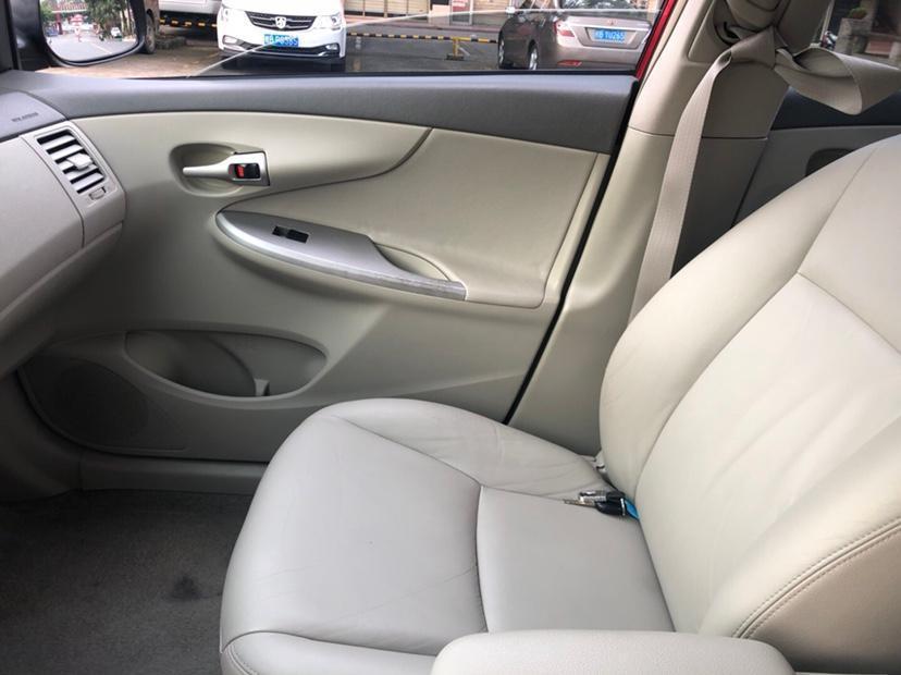 丰田 卡罗拉  2009款 1.8L 自动GLX-i特别纪念版图片