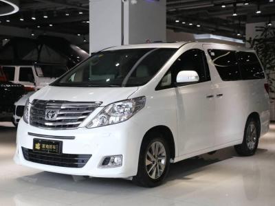 2012年10月 丰田 埃尔法(进口) 3.5L 豪华版图片