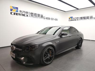 奔驰 奔驰E级AMG  2018款 AMG E 63 S 4MATIC+ 特别版