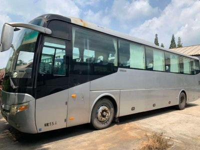 2009年6月  09年宇通客车55座非营运玉柴国三沪牌手续齐全 图片