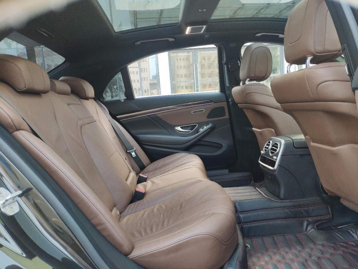 奔驰 奔驰S级  2014款 S 320 L 商务型图片