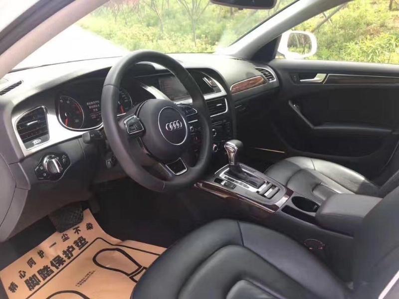 奥迪 奥迪A4L  2013款 35 TFSI 自动豪华型图片
