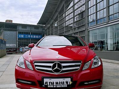 2013年1月 奔驰 奔驰E级(进口) E 260 CGI Coupe图片