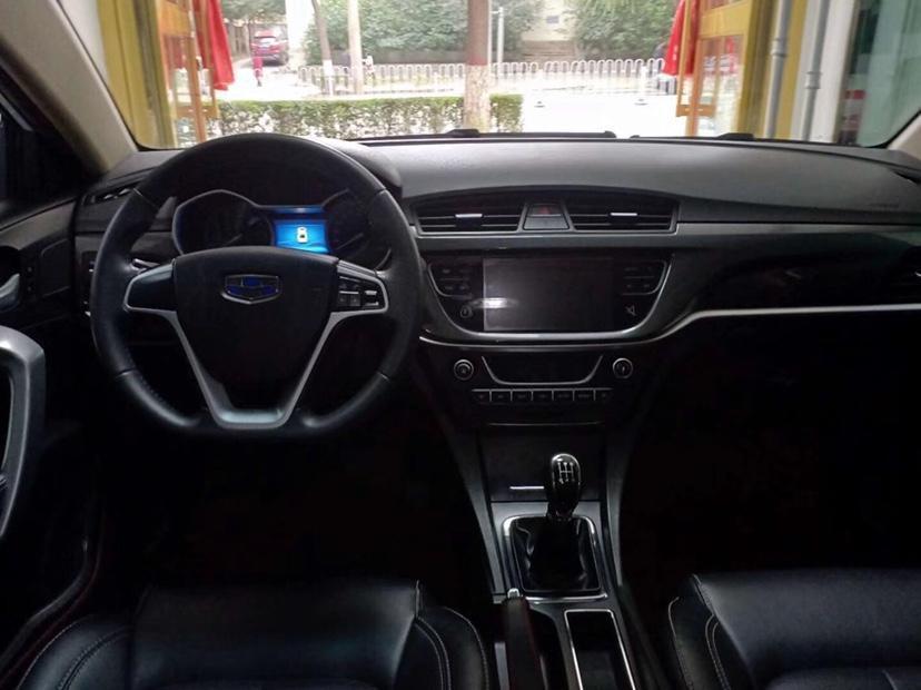 吉利 帝豪  2016款 三厢 1.5L 手动豪华型图片