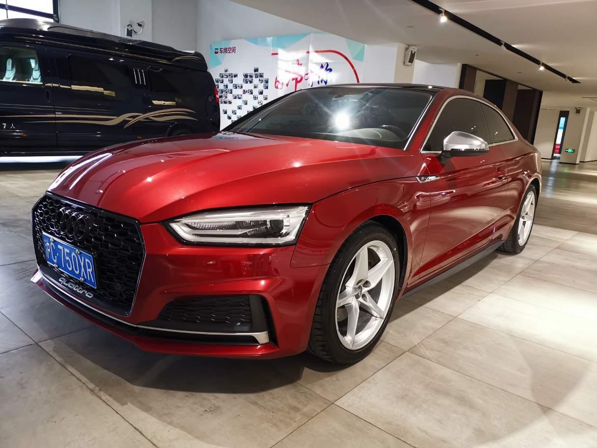 2018年9月 奥迪 奥迪A5  Coupe 40 TFSI 时尚型图片