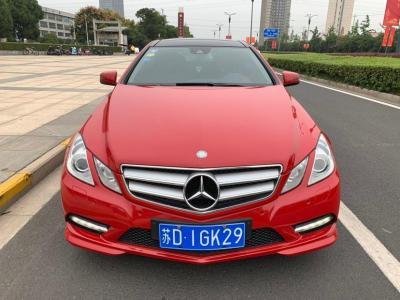2013年6月 奔驰 奔驰E级(进口) E 200 CGI Coupe图片