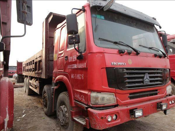 2012年11月 二手二手出售豪沃欧曼德龙后八轮自卸车 价格12万元