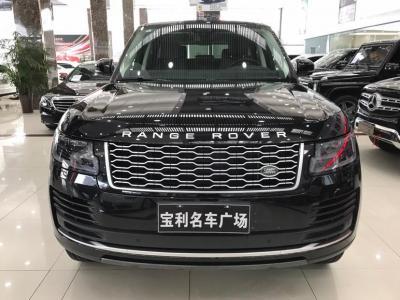 2019年3月 路虎 揽胜(进口) 3.0 V6 SC 传世版图片