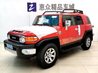 2019迪拜版丰田FJ酷路泽八气囊JBL气泵 图片