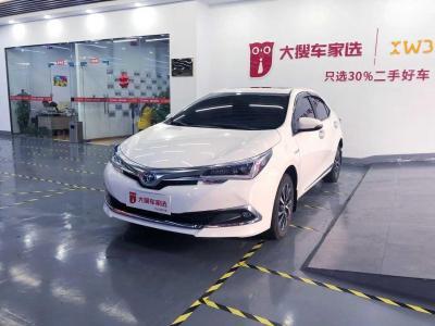 2019年5月 丰田 卡罗拉  改款双擎 1.8L E-CVT精英版图片