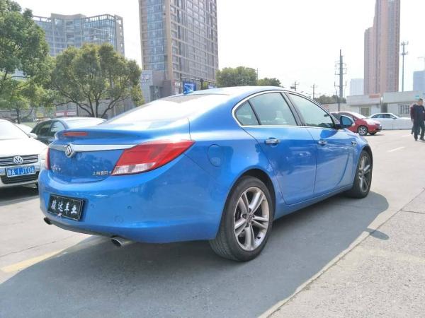 【杭州】2010年5月 别克 君威 2.0t 旗舰运动版 蓝色 手自一体