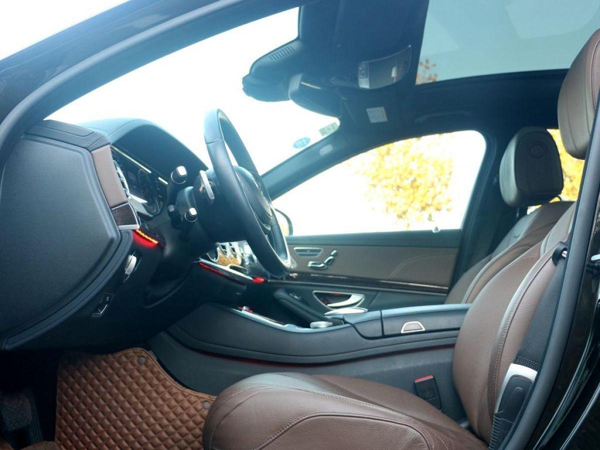 奔馳 奔馳S級  2016款 S 320 L 商務型圖片