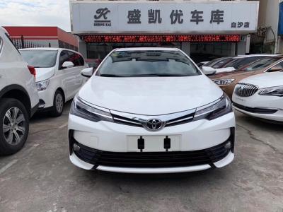 丰田 卡罗拉  2018款 1.2T S-CVT GL-i智辉版图片