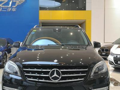 奔馳 奔馳M級  2012款 ML 350 豪華型