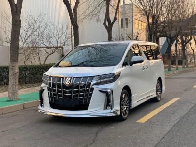 豐田 埃爾法  2018款 3.5L 尊貴版圖片