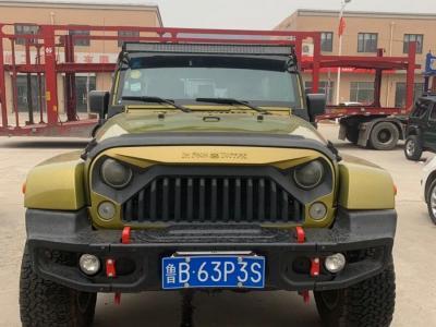 Jeep 牧马人  2010款 3.8L Sahara 四门版