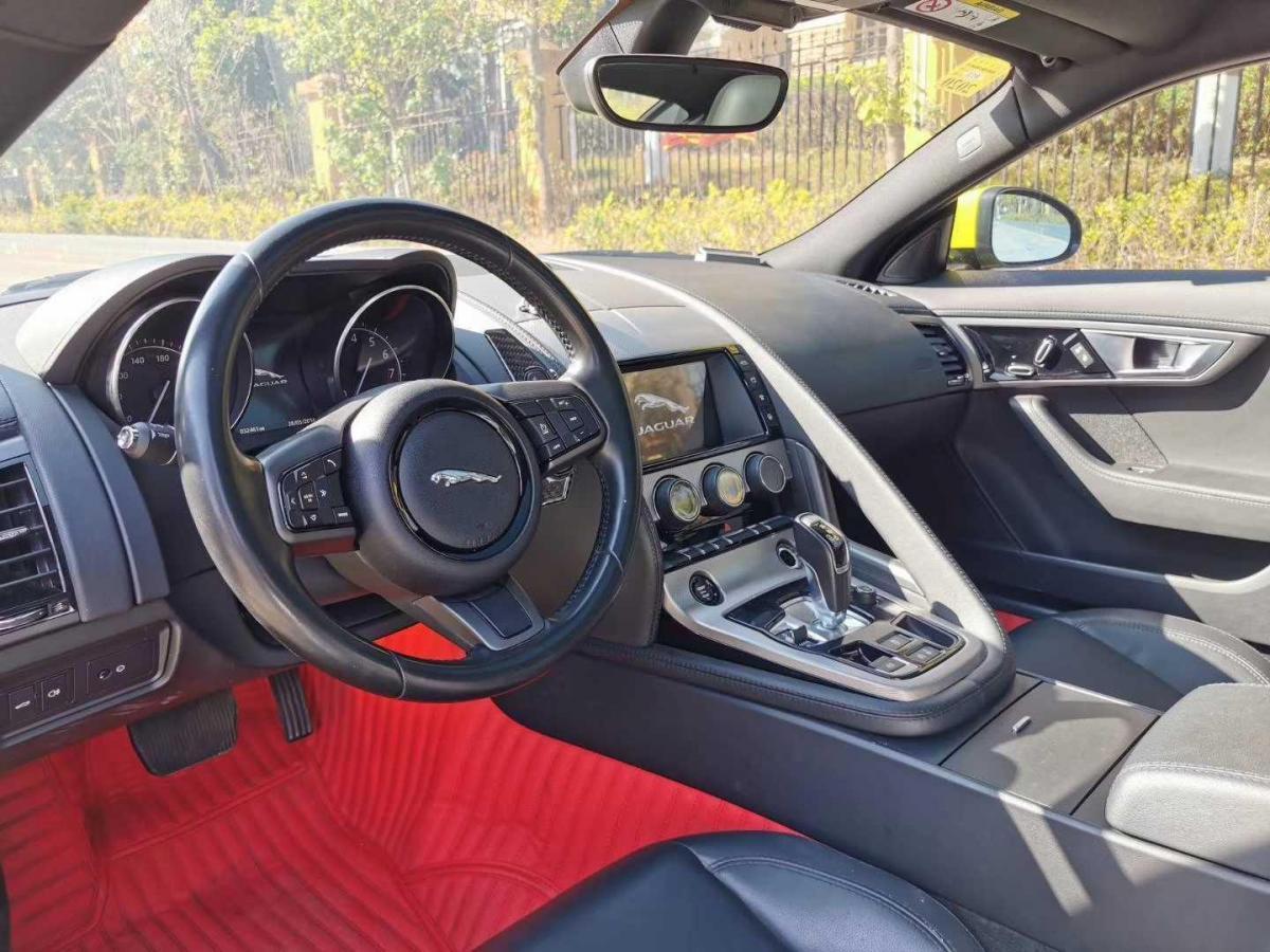 捷豹 F-TYPE  2016款 S Coupe 3.0T图片
