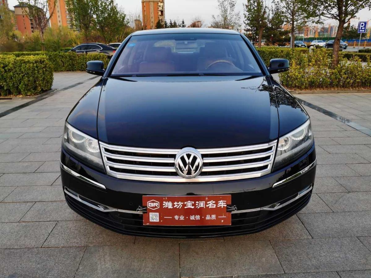 2014年3月 大众 辉腾(进口) 4.2L 奢享定制型图片