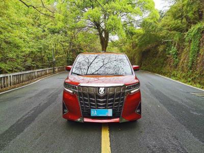 2019年1月 丰田 埃尔法  改款 3.5L 豪华版图片