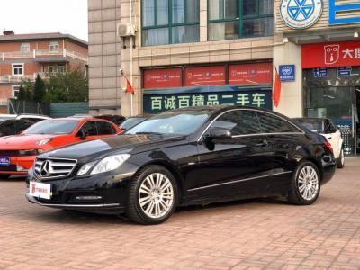 奔驰 奔驰E级  2010款 E 260 CGI Coupe图片