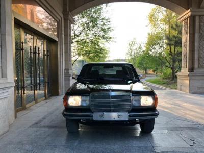 1995年1月 奔驰老爷车230e俗称长春奔驰图片