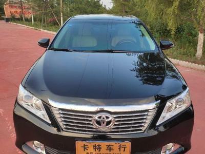 丰田 凯美瑞  2013款 2.0G 舒适版