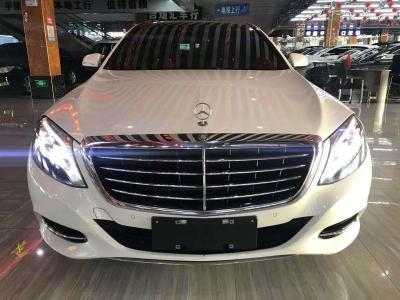 奔馳 奔馳S級  2016款 S 320 L 商務型