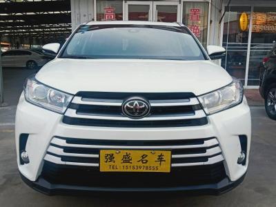 2019年6月 丰田 汉兰达  2.0T 两驱尊贵版 7座图片