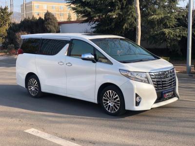 2018年2月 丰田 埃尔法(进口) 改款 3.5L 尊贵版图片