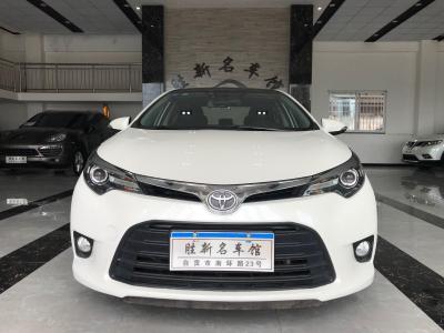 2015年8月 丰田 雷凌  1.6G CVT精英版图片