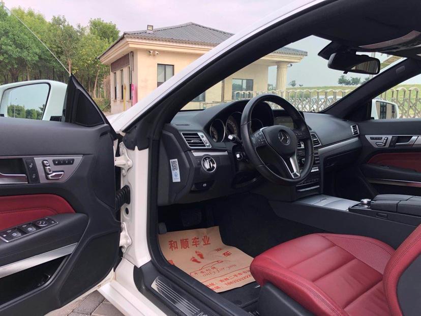 奔驰 奔驰E级  2016款 E 200 轿跑车 灵动版图片