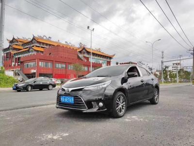 2015年6月 丰田 雷凌 1.6E CVT新锐版图片