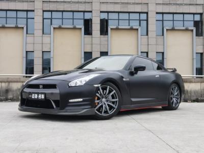 2014年10月 日产 GT-R(进口) 3.8T Premium Edition 棕红内饰图片