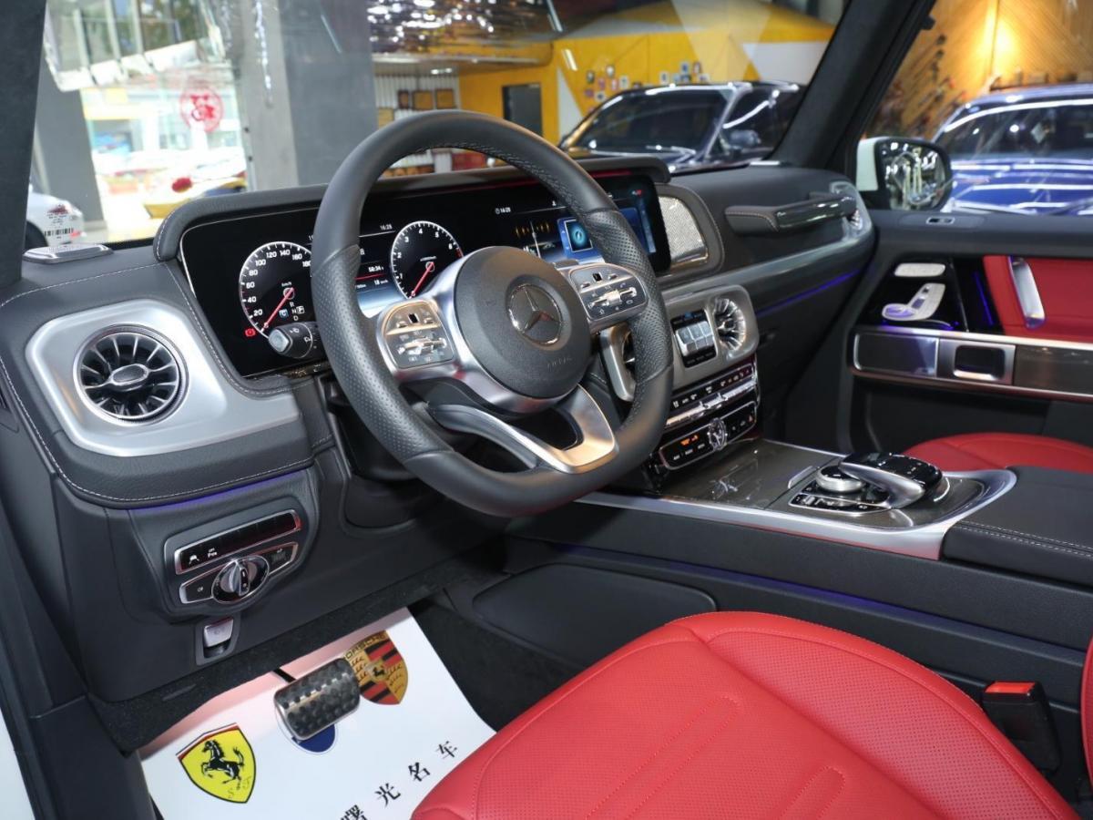 奔驰 奔驰G级  2020款 G500图片