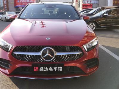 2019年8月 奔驰 奔驰A级   改款 A 200 L 运动轿车图片