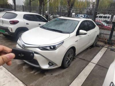 2017年1月 丰田 雷凌 改款双擎 1.8H GS CVT精英版 国V图片