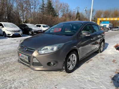 2012年12月 福特 福克斯 三厢 1.6L 自动舒适型图片