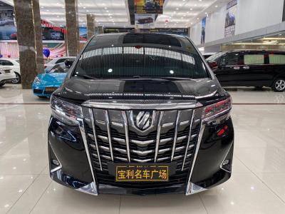 2019年4月 丰田 埃尔法(进口) 3.5L 尊贵版图片