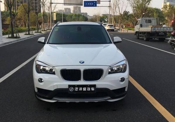 【宁波】2015年10月 宝马 宝马x1 白色 自动档