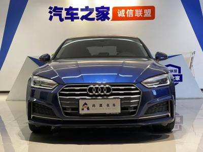 奥迪 奥迪A5  2019款 Sportback 40 TFSI 时尚型