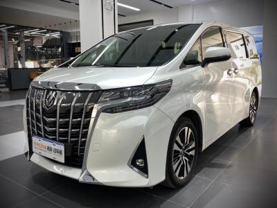 2018年11月 丰田 埃尔法(进口) 3.5L 尊贵版图片