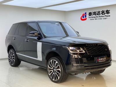 2020年7月 路虎 揽胜(进口) 3.0T 柴油HSE加版图片