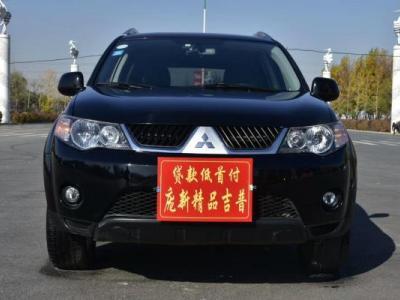2009年2月 三菱 欧蓝德 2.4L CVT 时尚型 四驱图片