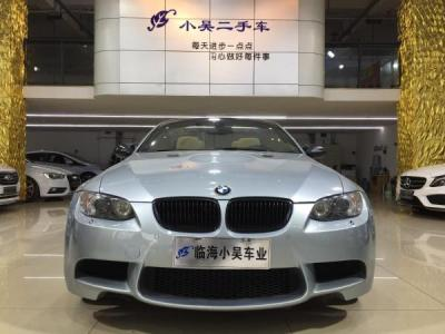 2012年10月 宝马 宝马M系 M3 敞篷轿跑车 4.0图片
