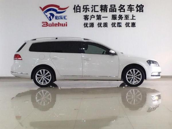 【南京】2014年2月 大众 迈腾 旅行车 2.0 tsi 舒适型 白色 自动档